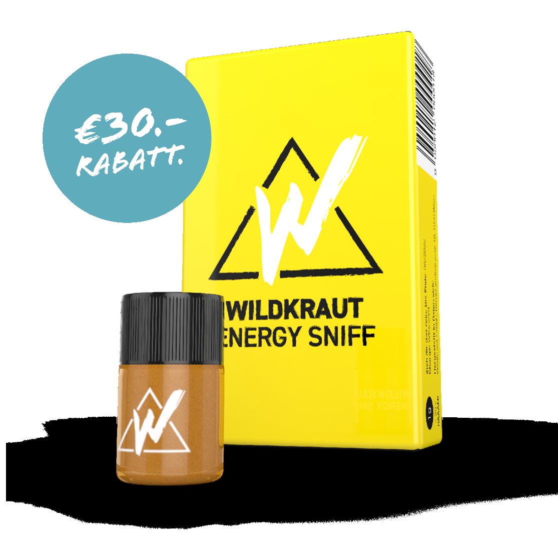 Wildkraut - Energy Sniff - Festivalpackung