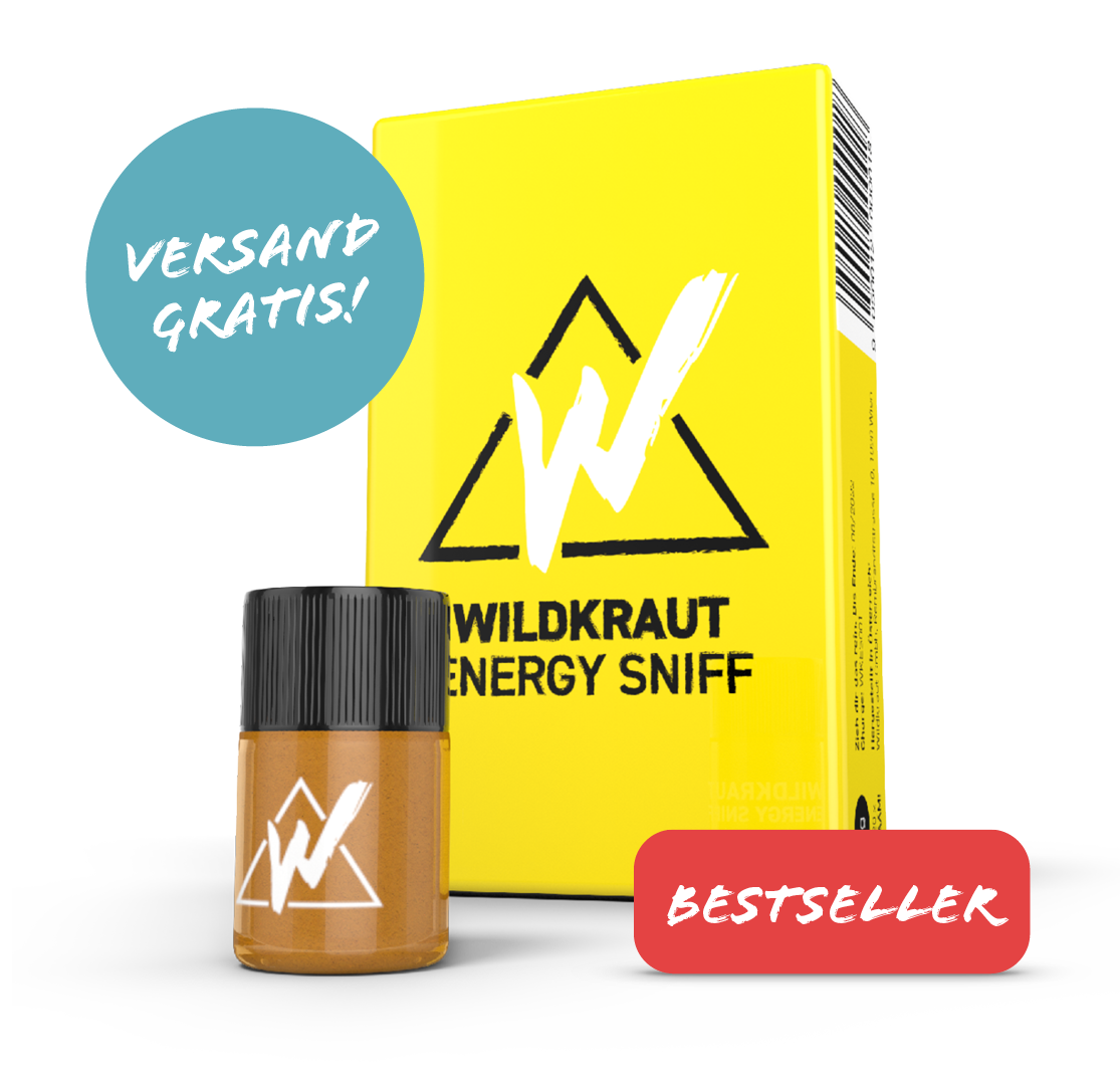 Wildkraut - Energy Sniff - Halber Sixpack